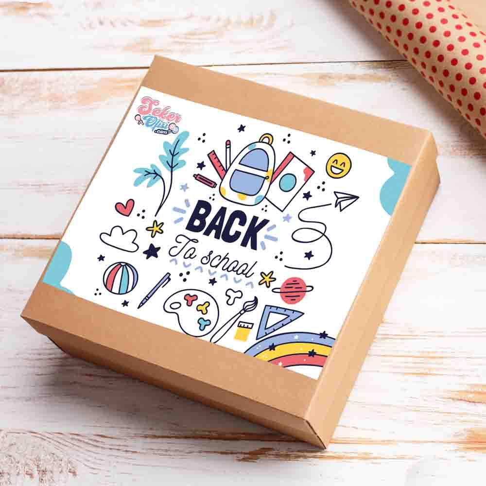 Back to School Box Moyen Okula Dönüş Herşey İçinde Orta