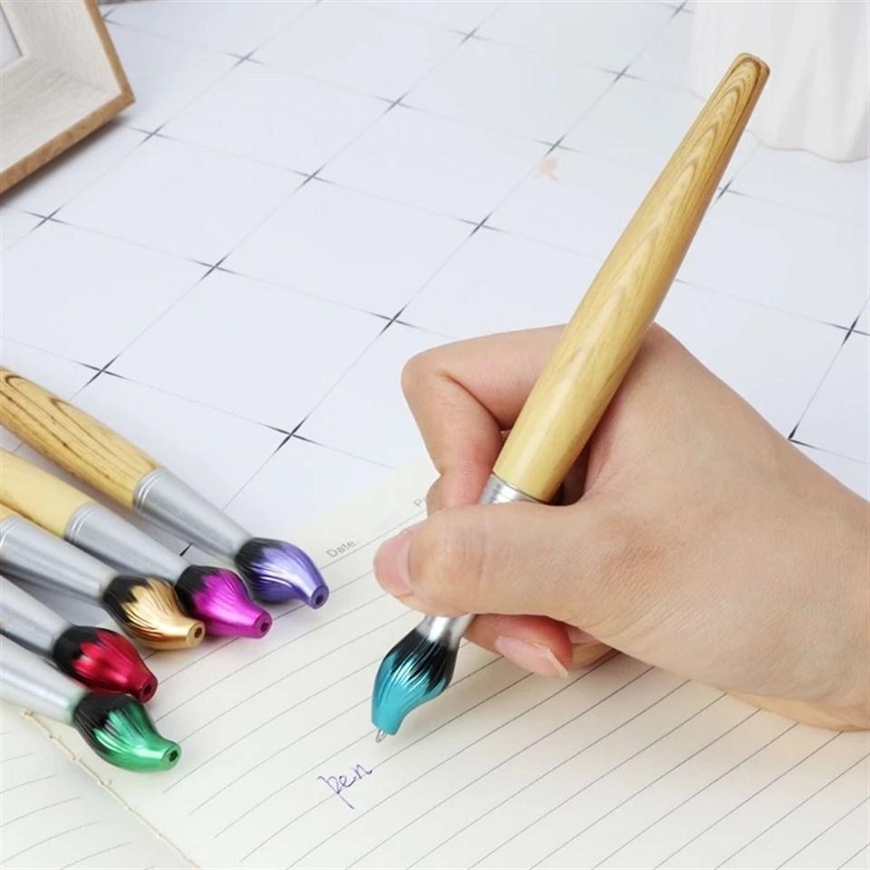 Fırça Şeklinde Sanatsal Mürekkep Kalem