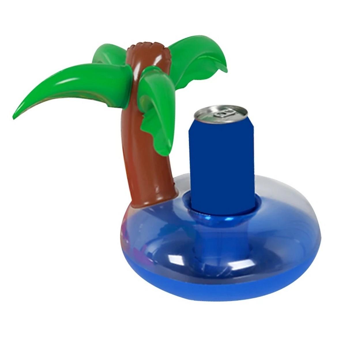 Palmiye Deniz Yatağı Şişme Bardak Tutucu
