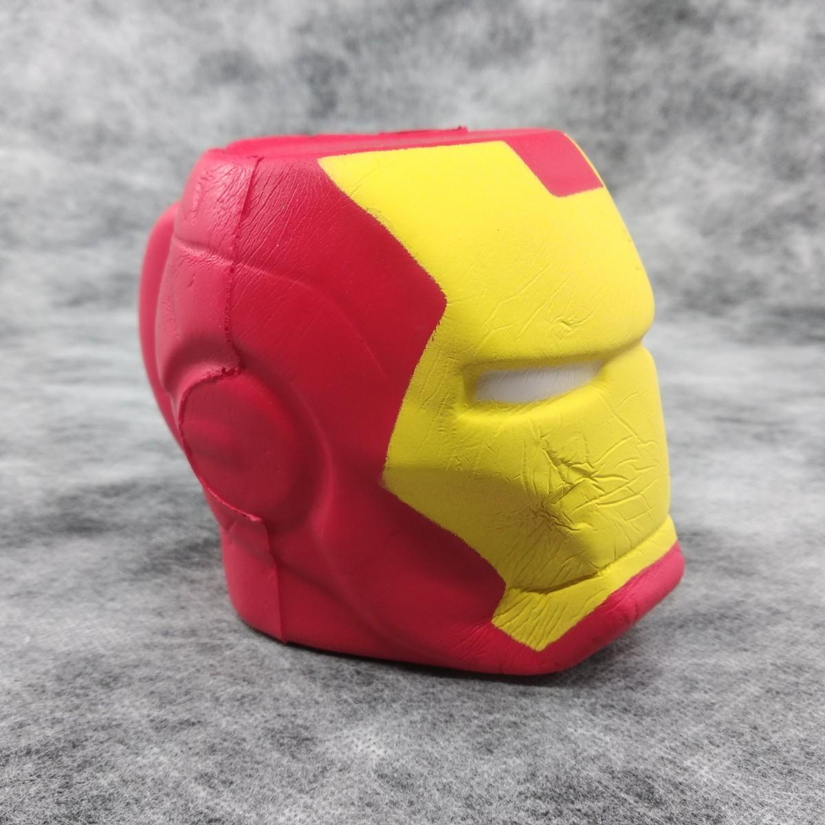 Squishy Avengers İronman Demir Adam Jumbo Sukuşi