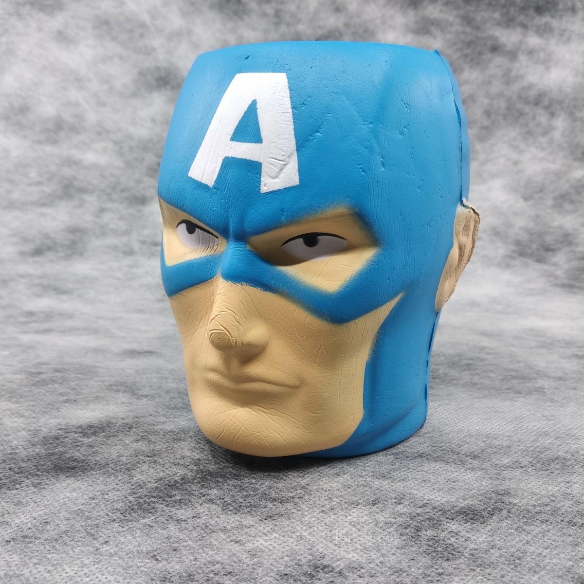 Squishy Avengers Kaptan Amerika Jumbo Sukuşi