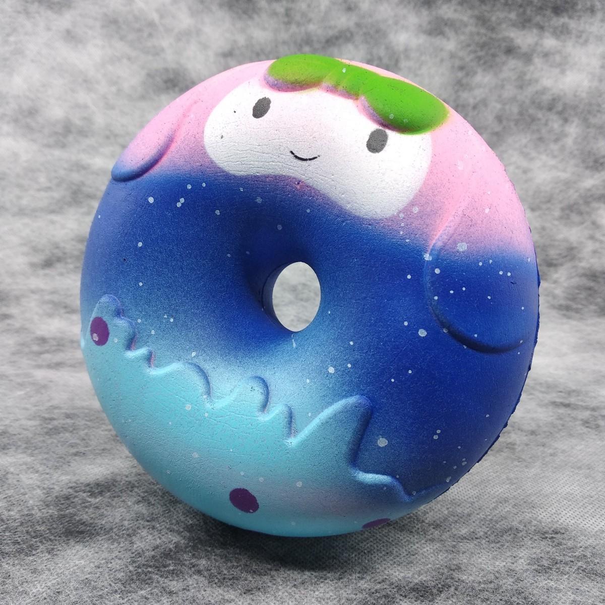 Squishy Jumbo Galaxy Donut Sukuşi