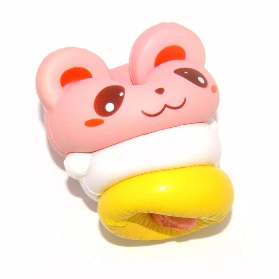 Squishy Sevimli Çıngırak Panda Sukuşi