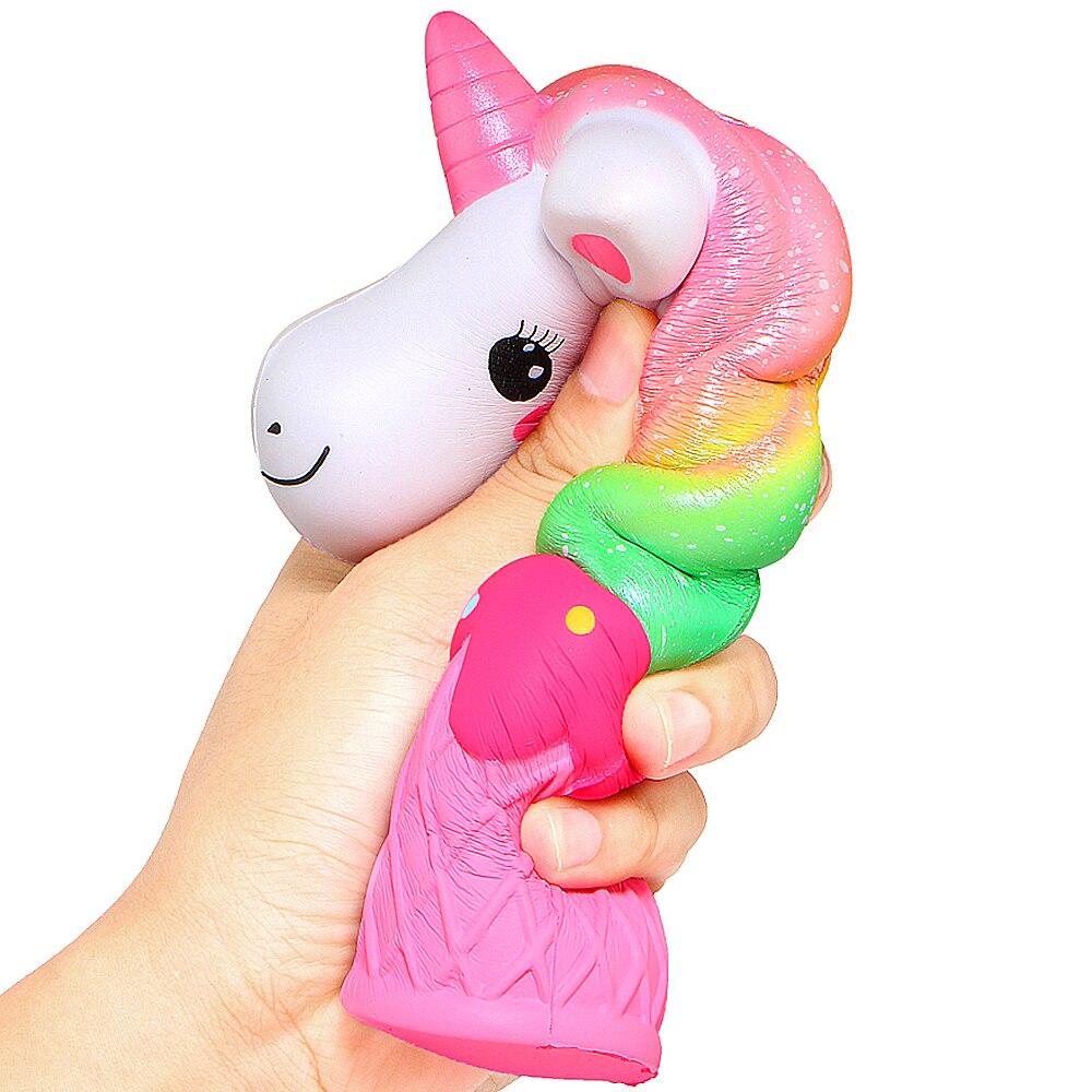 Squishy Unicorn Dondurma Sukuşi